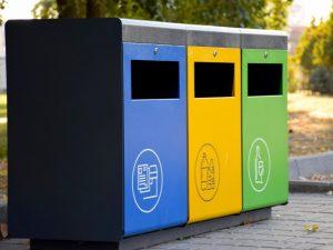 ¿Sabes qué echar en cada cubo de basura?